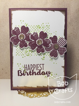 Flower Shop Birthday card