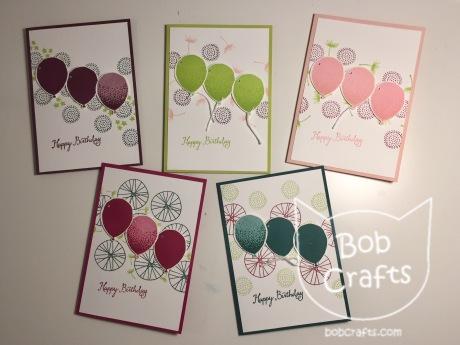 Balloon Celebration cards