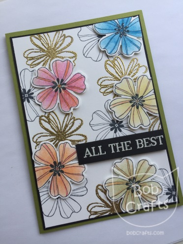 Flower Shop card by Bobcrafts by Stampin Up