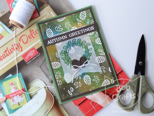 Stampin up seasonal lantern bundle 2017 holiday catalogue