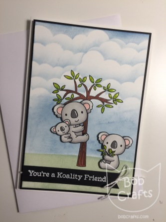 Koala greeting card by Bobcrafts